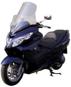 FABBRI-Parabrezza-Trasparente-Per-Suzuki-Burgman-125-200-2007-2008-2009-2010