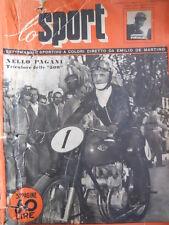 SPORT ILLUSTRATO n°14 1951  Nello Pagani Amedeo Amadei Verdeal  [G41]