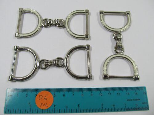 12 Pcs Vantage Design  Double D ring for cloths & leather bags