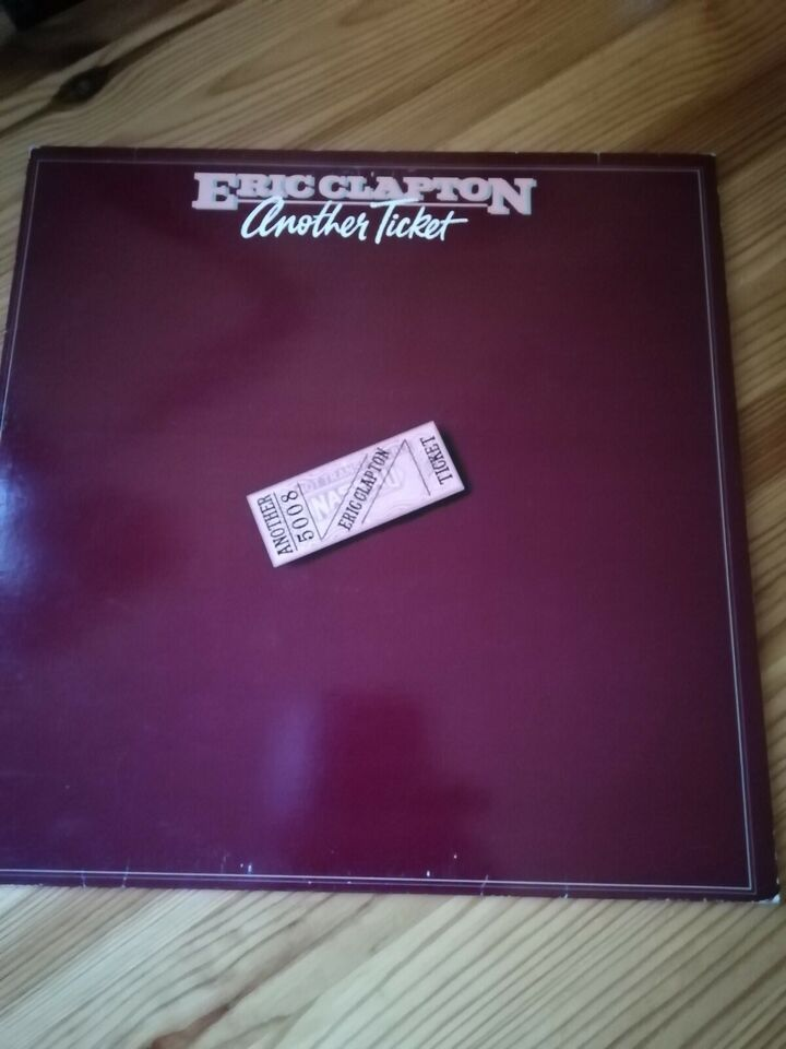 LP, Eric Clapton, Another Ticket
