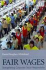 Fair Wages: Strengthening Corporate Social Responsibility by Daniel Vaughan-Whitehead (Paperback, 2011)