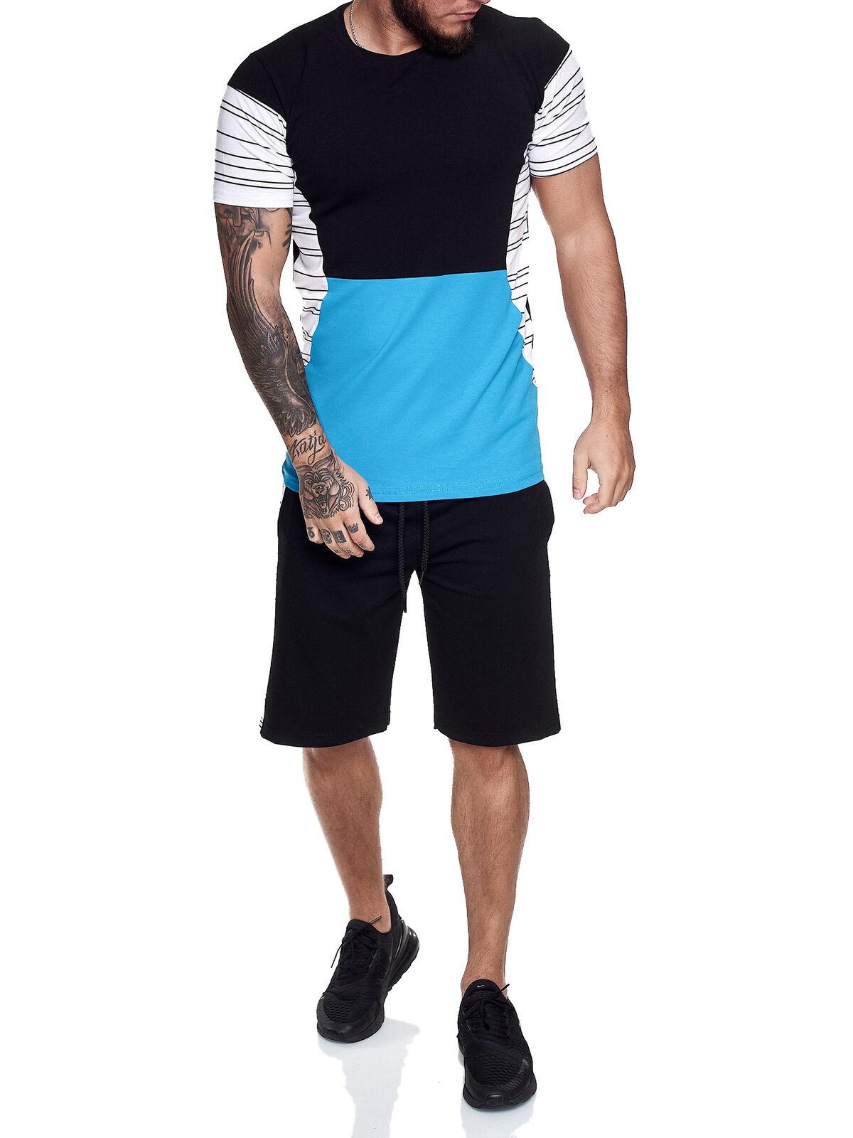 short-Jogginganzug Tracksuit Shortanzug Trackies Shorts T-Shirt