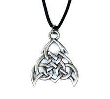 Celtic Tribal Knot Pewter Loyalty Amulet Pendant Necklace Courtney Davis CD02