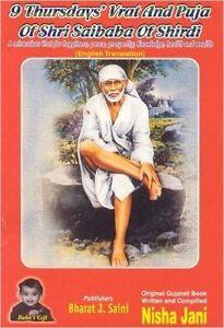 Shri Shirdi Sai Baba Vrat 9 Thursday Vrat And Puja Book Ebay