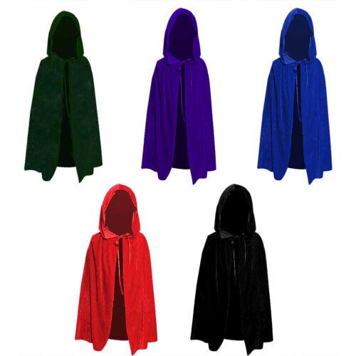 Halloween Kids Boy Girl Cloak Vampire Witch Prince Cosplay Clothes Cap Prank US