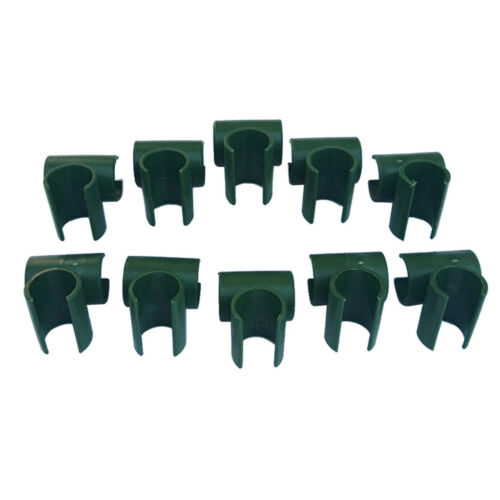 10Pcs Plastic Plant Stakes Connectors Garden Climbing Plant Support Fixed Clamps