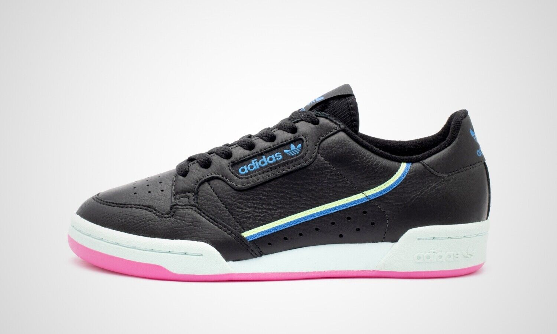 Adidas Continental 80 W schwarz blau, Damen Turnschuhe, Art. G27723, NEU im Karton