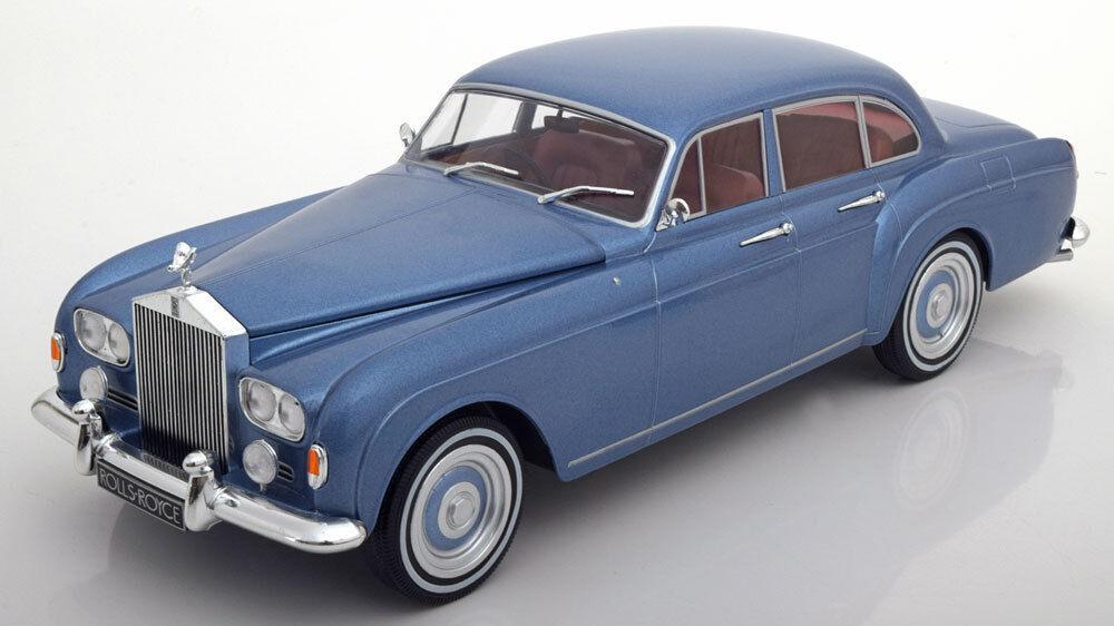 exclusivo Mcg 1965 Rolls Royce plata Cloud 3 Flying Spur Spur Spur Rhd Mulliner Luz Azul 1 18 Nuevo  A la venta con descuento del 70%.