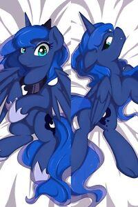 Image Is Loading Cute My Little Pony Princess Luna Otaku Dakimakura