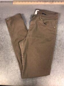 H-amp-M-Womens-Tan-Jeans-Skinny-Leg-Size-10