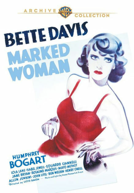 MARKED WOMAN (Bette Davis) - DVD - Region Free - Sealed