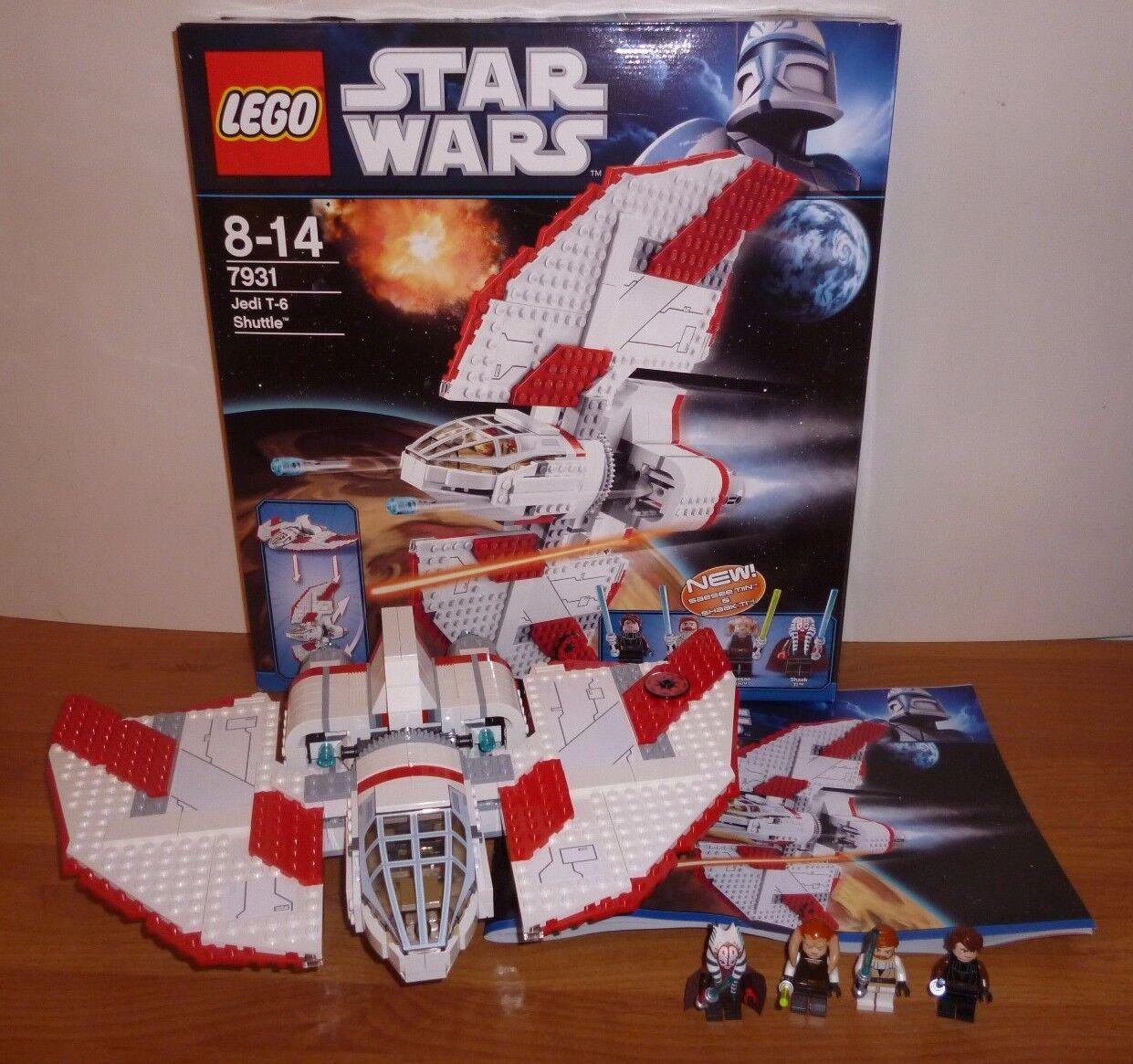 LEGO Star Wars   7931 T6-Jedi Shuttle , komplett mit Figuren, BA und OVP, TOP