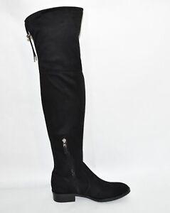 8fda58f0ba0 New! Sam Edelman  Paloma  Size 7.5 Over-the-Knee Black Suede Boots ...