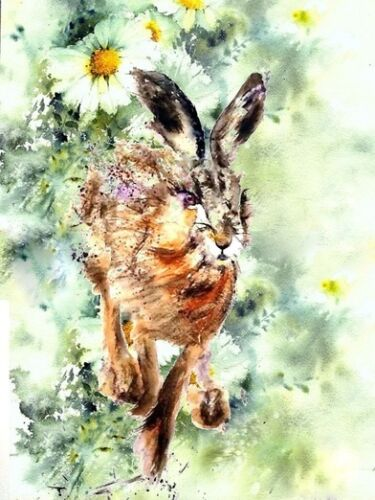 ACEO Art Print Tara Tet Art Card  from original watercolor painting