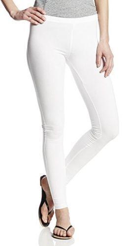 M Hue Women/'s Cotton Leggings Stretch Solid EDV Leggings XS,S L