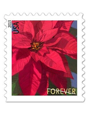 2013 46c Poinsettia, America's Christmas Flower Scott 4821 Mint F/VF NH
