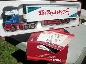 CORGI-MODERN-1-50-MERCEDES-BENZ-ACTROS-SEMI-refrigeree-034-The-Real-Mc-KAY-034