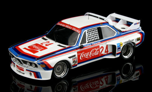 1976 BMW BMW BMW 3.0 CSL  24 COCA COLA DAYTONA 24HR  MODEL CAR BY TSM 114347 dcb229