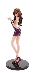 Lupin the Third Fujiko Mine Wine Red Ver. Groovy Baby Shot IV PVC Figure