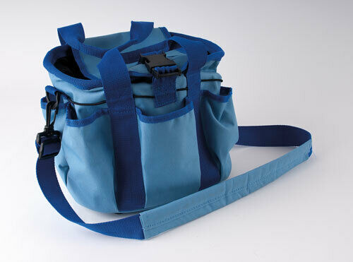 Rhinegold HORSE PONY Grooming Kit BAG Blue Red Grey FREE POST !