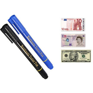 New Money Tester Forged Pen Marker Counterfeit Fake Bank Note Detector