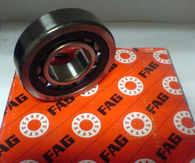 1 Stk. FAG Zylinderrollenlager NU203 E-TVP2-C3 = NU203 ECP/C3  17x40x12 mm