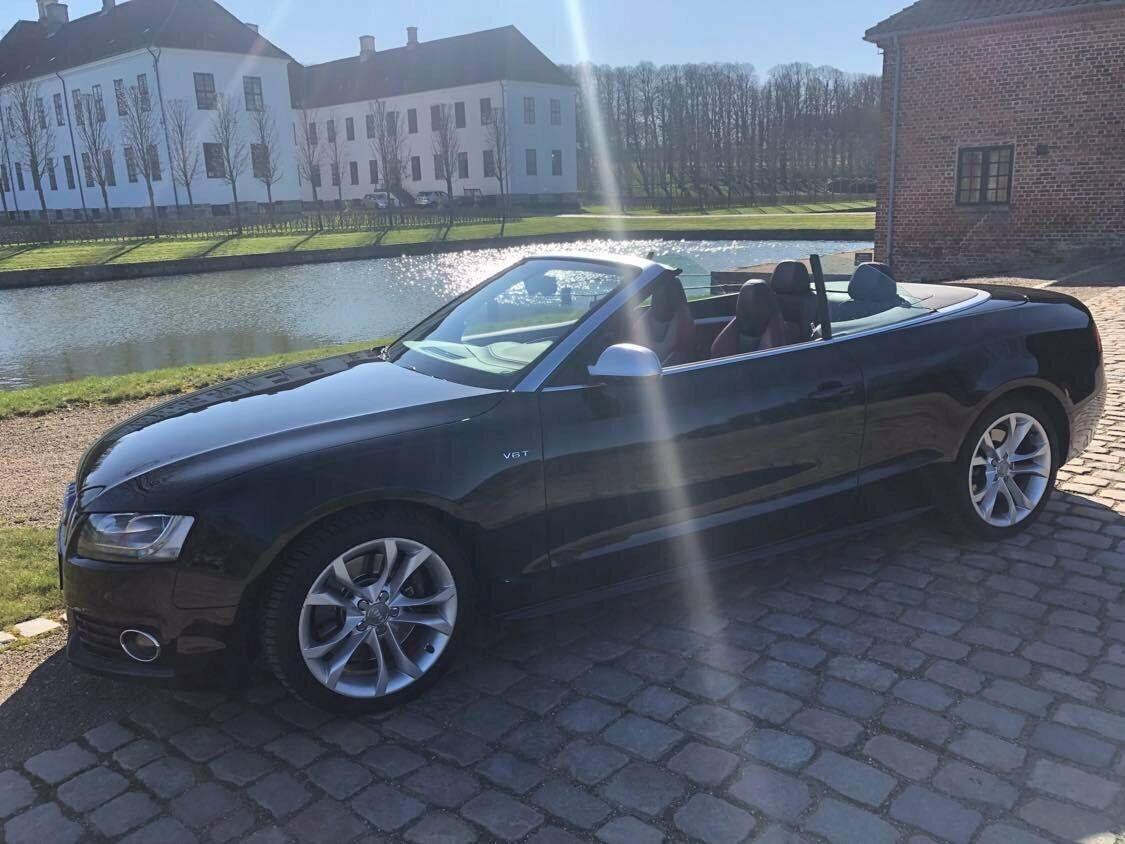 Audi S5 3,0 TFSi Cabriolet quattro S-tr. 2d - 399.900 kr.