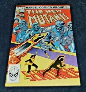 The New Mutants  #2 Vol 1 Marvel Comics 1983  Sentinels New Mutants Movie