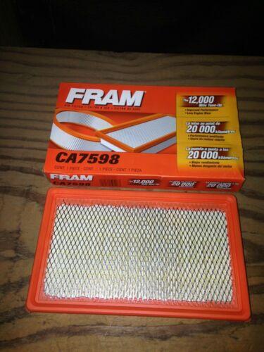 Fram CA7598 Air Filter fits A1233C 25099735 A24881 AF7873 AF190 46301 6301