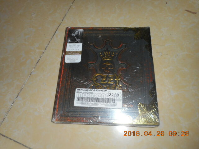 Ozzy Osbourne: Memoirs of a Madman - DVD Region 2 Brand New SEALED