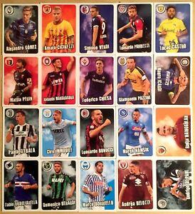 Calciatori-panini-2017-18-set-completo-20-Card-Fuori-Raccolta-GOL
