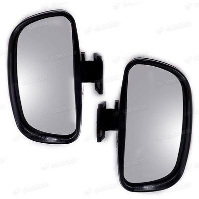 2x Aussenspiegel Weitwinkelspiegel Außenspiegel Fahrschulspiegel Toter-Winkel