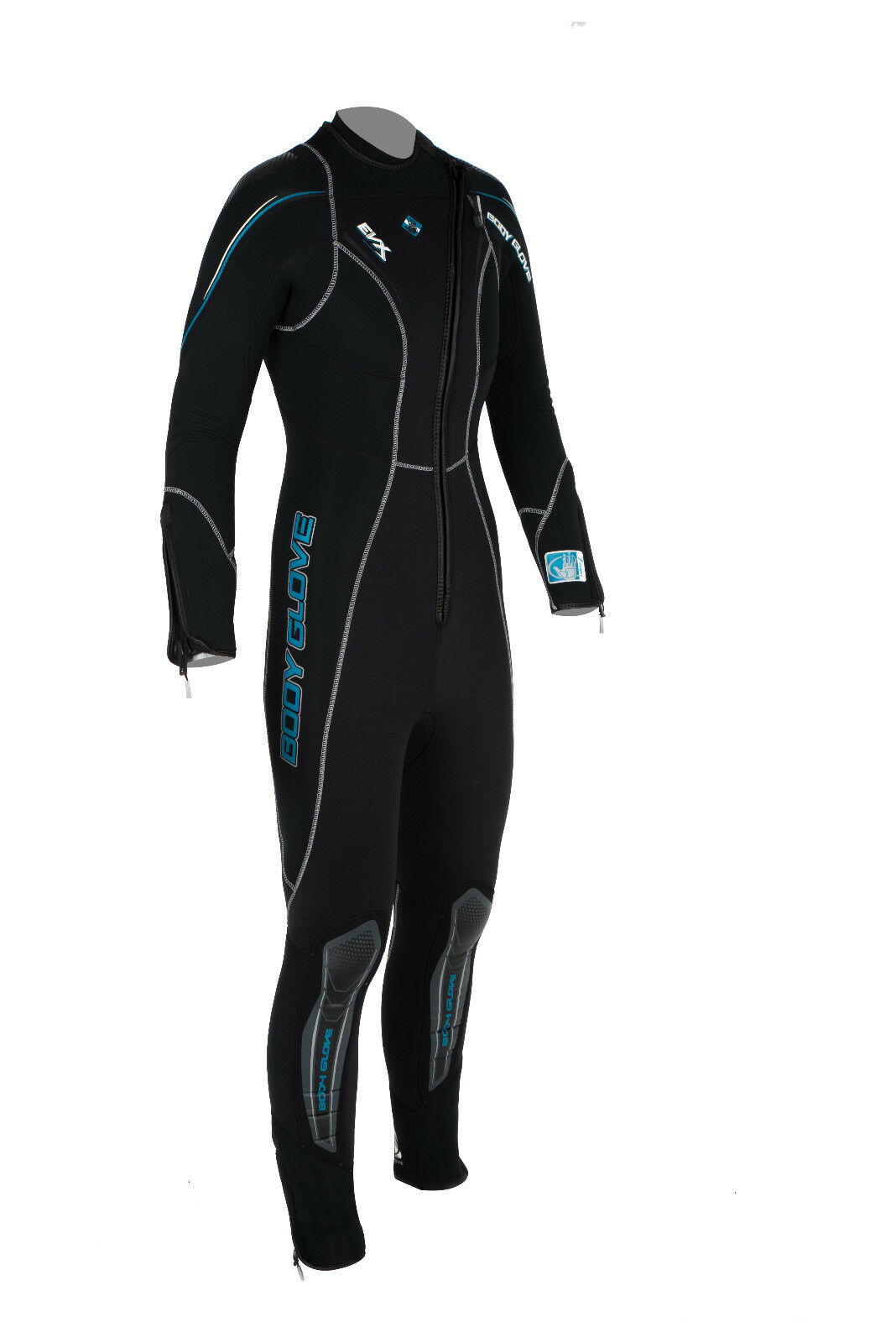 BODY BODY BODY GLOVE EVX Front Zip 7mm Damen Full Wetsuit Neoprenanzug Surf Tauchanzug b7e15b
