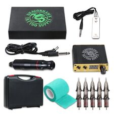 Dragonhawk Cartridge Tattoo Machine Kit Pen Rotary Tattoo Machine Cartridge Need
