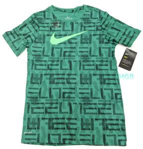 Nike Air Travel Tee Shirt Athletic Cut Mens Blue Black Training AJ7483-471 NWT