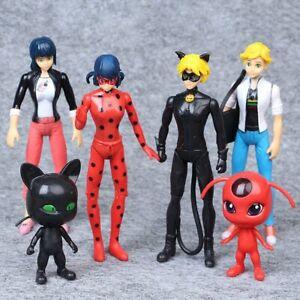 6PCS-Miraculous-Ladybug-Action-Figures-Doll-Tikki-Noir-Cat-Plagg-Adrien-Toys-Set
