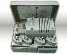 50-1600 Watt Travel Voltage Converter Transformer Adapter Plug Kit
