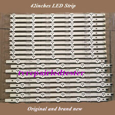 "10Pcs/set LED Strips Array 42"" LED Strip ROW2.1 REV 0.0 42LN519C-CC 42LP360C-CA"