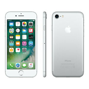 Apple iPhone 7 128GB Factory GSM Unlocked T-Mobile AT&T Smartphone - Silver