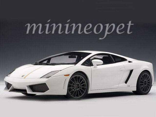 Lamborghini Gallardo Lp550 2 Valentino Balboni Edition White 1 18
