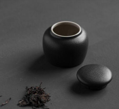 Mini étanche céramique loose Feuilles de Thé Bidon Caddy Jar 115 ml