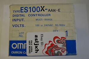 ES100X-AAH-E-Omron-New-In-Box-Temperature-Process-Controller
