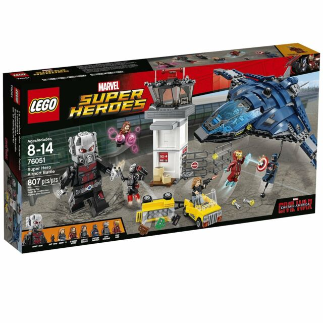 LEGO Super Heroes Airport Battle 76051 - retired
