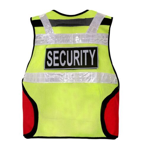 te Security Weste Leuchtweste Patch Gelb data-mtsrclang=en-US href=# onclick=return false; show original title Details about  /Protective Vest Tactical Vest Safety Vest Security Vest Signal Vest Patch Yellow