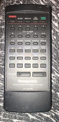 Panasonic RAK-RX309WM Audio System Remote Control RX-DT680 ...