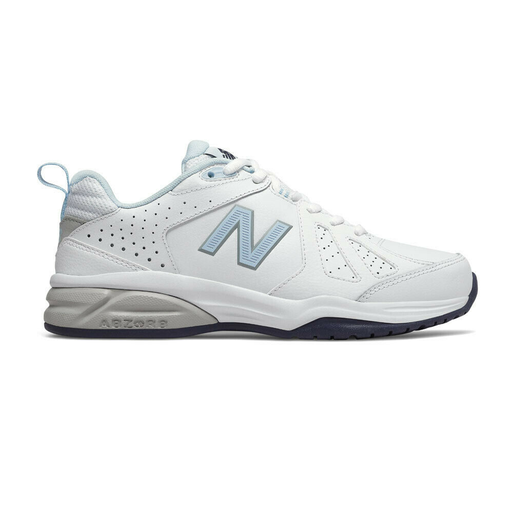 New Balance Womens 624v5 Training Gym Fitness shoes - White Sports Wide EE