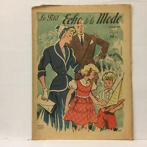 Le-Petit-Echo-de-la-Mode-N-21-22-Mai-1949-Ancien-Magazine-Francais
