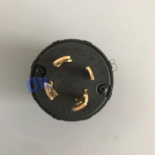 L15-30 Plug Rated for 30A NEMA L15-30P Locking Plug 250V  UL