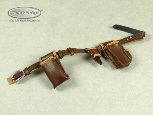 Female Brown Utility Belt w// Tool Holders TBLeague 1//6 Scale Phicen Cat Toys