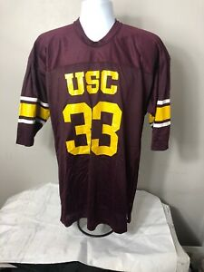 5b517d41235 Vintage Marcus Allen USC Trojans Champion Jersey Size Large- Made in ...